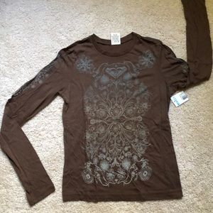 Brand new, with tags long-sleeved t-shirt